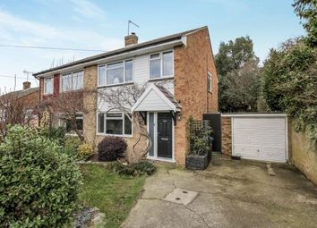 Thumbnail 3 bed semi-detached house for sale in Row Town, Addlestone, Surrey