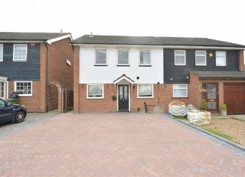Thumbnail 4 bed semi-detached house to rent in Maytree Close, Rainham, Essex