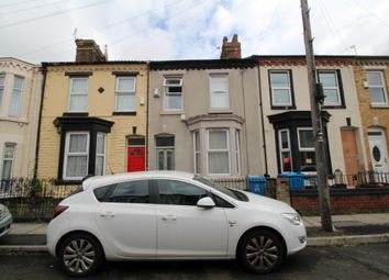 Thumbnail 3 bed terraced house to rent in Stevenson Street, Wavertree