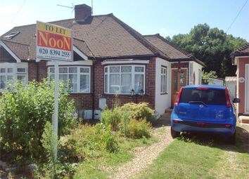 Thumbnail 3 bed semi-detached bungalow to rent in Lakehurst Road, Ewell, Epsom