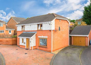 Thumbnail 3 bed detached house for sale in Bramshill Avenue, Kettering