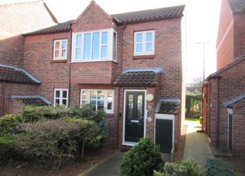 Thumbnail 1 bed flat for sale in Applegarth Court, Northallerton, North Yorkshire