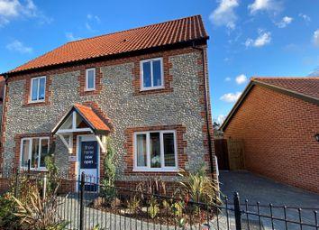 Thumbnail 4 bed detached house for sale in Brick Kiln Road, Wensum Grange, Fakenham