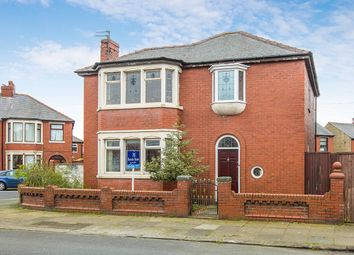 Thumbnail 3 bed detached house for sale in Grasmere Road, Blackpool