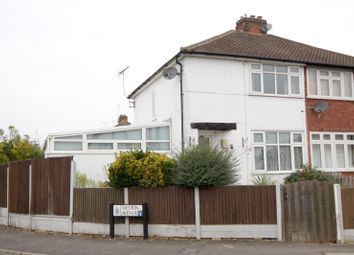 Thumbnail 3 bedroom semi-detached house for sale in Marsh Lane, Addlestone, Surrey