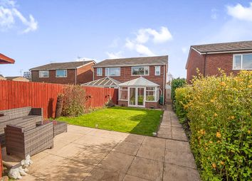 Thumbnail 3 bed semi-detached house for sale in Peartree Walk, Yaxley, Peterborough