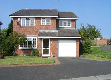 Thumbnail 4 bedroom detached house for sale in Scoular Drive, Ashington