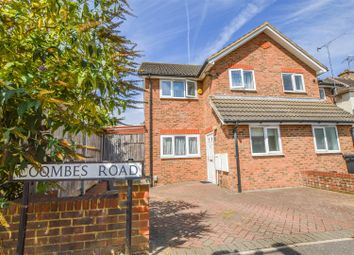 Thumbnail 3 bed semi-detached house for sale in Coombes Road, London Colney, St. Albans