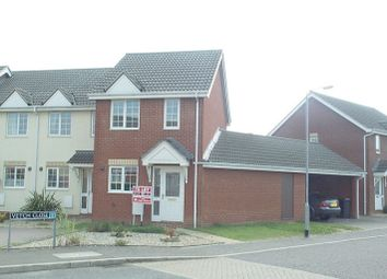 Thumbnail 2 bed end terrace house to rent in Vetch Close, Wymondham