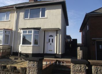 Thumbnail 2 bed semi-detached house to rent in Broadwaters Road, Darlaston, Wednesbury