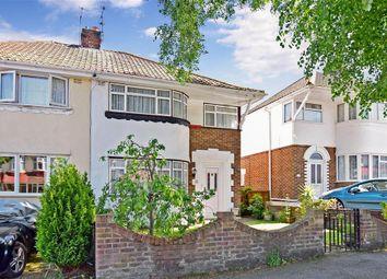 Thumbnail 3 bed semi-detached house for sale in Hawthorne Avenue, Rainham, Gillingham, Kent