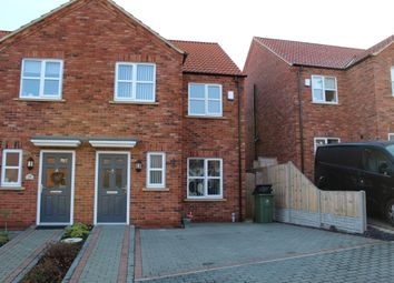 "Thumbnail 3 bed semi-detached house to rent in Apple Tree Lane ""The Mulberries"", Laceby Near Grimsby"