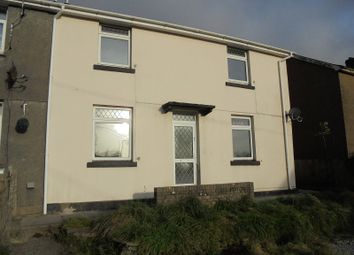 Thumbnail 3 bed semi-detached house to rent in Heol Ganol, Nantymoel, Bridgend, Bridgend.