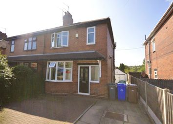 Thumbnail 2 bed semi-detached house for sale in Riverside Road, Trent Vale, Stoke-On-Trent