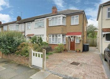 Thumbnail 3 bed end terrace house for sale in Chailey Avenue, Enfield