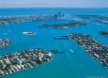 Thumbnail Land for sale in 79 N Hibiscus Dr, Miami Beach, Fl, 33139