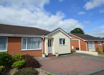 Thumbnail 2 bed semi-detached bungalow for sale in Rosewell Close, Honiton