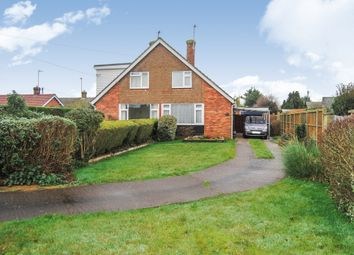 Thumbnail 2 bedroom semi-detached house for sale in Beauford Road, Ingham, Bury St. Edmunds