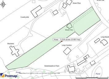 Thumbnail 3 bed bungalow for sale in Castle Hill, Mottram St. Andrew, Macclesfield, Cheshire