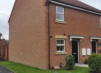 Thumbnail 2 bed semi-detached house for sale in St Marys Walk, Hambleton, Selby