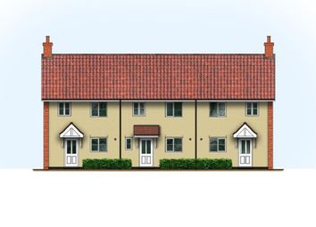 Thumbnail 3 bed terraced house for sale in Plot 2 Kings Terrace, High Street, Kessingland