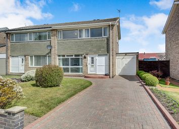 Thumbnail 3 bed semi-detached house for sale in Cateran Way, Cramlington