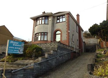 Thumbnail 3 bed detached house for sale in Elgin Road, Pwll, Llanelli, Carmarthenshire.