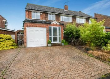 Thumbnail 4 bed semi-detached house for sale in Downs Park, Downley, High Wycombe