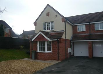 Thumbnail 3 bed semi-detached house to rent in Grovefield Crescent, Balsall Common, Coventry