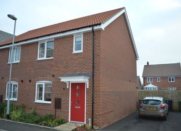 Thumbnail 3 bedroom semi-detached house to rent in Elm Street, Dereham