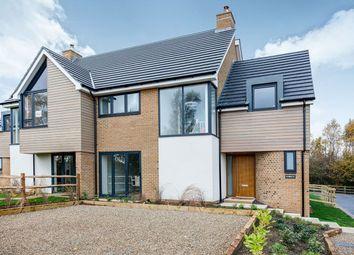 Thumbnail 4 bed semi-detached house for sale in - Lightwood Blind Lane, Bredhurst, Gillingham