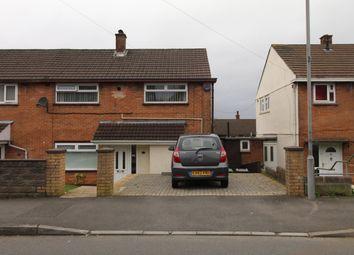 Thumbnail 3 bedroom property for sale in Bideford Road, Llanrumney, Cardiff