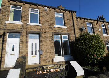 Thumbnail 3 bed terraced house to rent in Ryefield Road, Golcar, Huddersfield