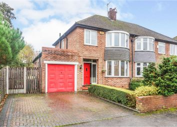 Thumbnail 3 bed semi-detached house for sale in Coniston Drive, Wilmslow