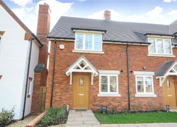 Thumbnail 2 bed terraced house for sale in Campbell Close, Shottery, Stratford-Upon-Avon