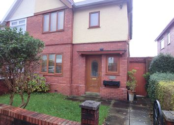 Thumbnail 3 bedroom semi-detached house for sale in Kelvin Road, Clydach, Swansea.