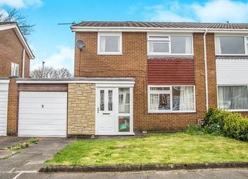 Thumbnail 3 bed semi-detached house for sale in Rosewell Place, Whickham, Newcastle Upon Tyne