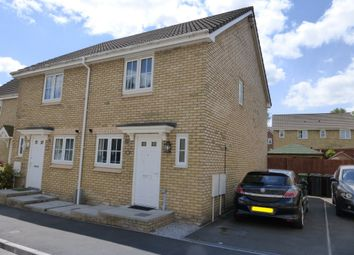 Thumbnail 2 bed semi-detached house for sale in Poplar Place, Llantarnam, Cwmbran