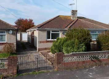 Thumbnail 2 bed bungalow for sale in Wembley Avenue, Lancing, West Sussex