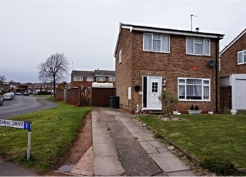 Thumbnail 3 bedroom detached house for sale in Paganal Drive, West Bromwich