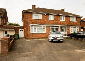 Thumbnail 3 bed semi-detached house for sale in Hylstone Crescent, Wednesfield, Wolverhampton, West Midlands