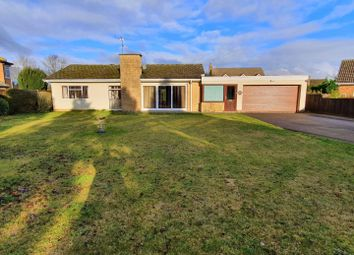 Thumbnail 3 bed detached bungalow for sale in Foxcovert Drive, Roade, Northampton