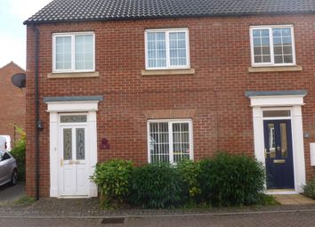 Thumbnail 3 bedroom end terrace house for sale in Anvil Close, Chatteris