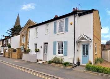 Thumbnail 2 bed semi-detached house for sale in Park Road, Esher, Surrey