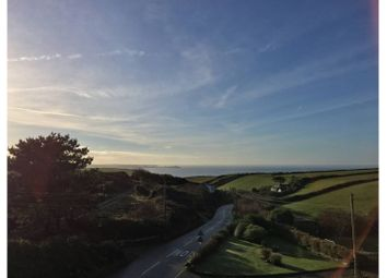 Thumbnail 1 bed flat for sale in Tregurrian, Newquay
