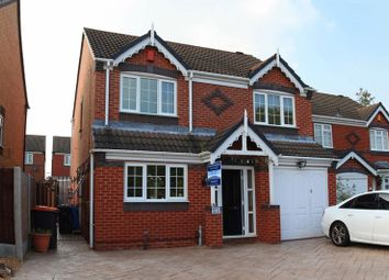 Thumbnail 4 bed detached house for sale in Andreas Drive, Muxton, Telford