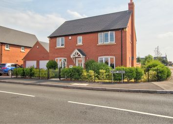 4 bed detached house for sale in Poppy Road, Lutterworth LE17