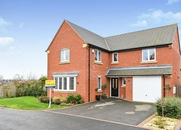 Thumbnail 4 bed detached house for sale in Wilson Way, Burton-On-Trent, Staffordshire