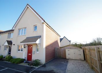 Thumbnail 3 bedroom end terrace house for sale in Meadowland Road, Chivenor, Barnstaple