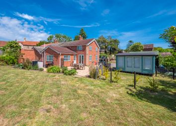 Thumbnail 3 bed semi-detached house for sale in Great Bricett, Ipswich, Suffolk